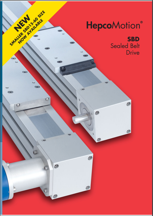SBD Sealed Linear Actuator hepcomotion