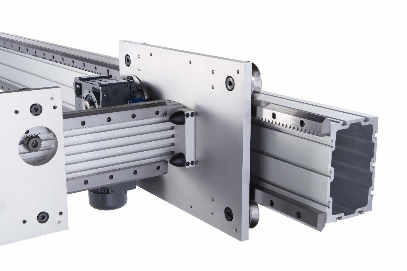 RACK AND PINION DRIVEN SYSTEMS